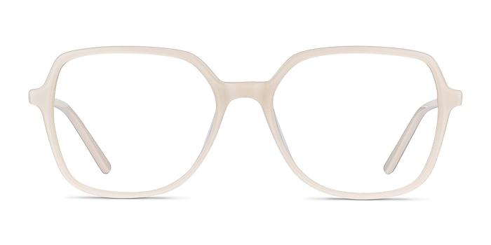 Lenny Cream Acetate-metal Eyeglass Frames from EyeBuyDirect