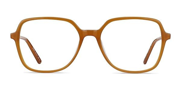 Lenny Mellow Yellow Acetate-metal Montures de lunettes de vue