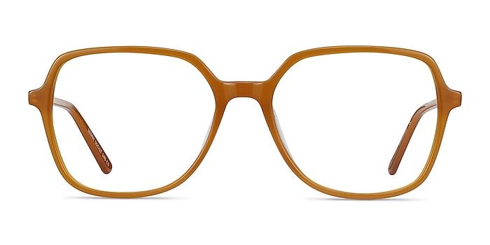 Lenny Mellow Yellow Acetate-metal Eyeglass Frames from EyeBuyDirect