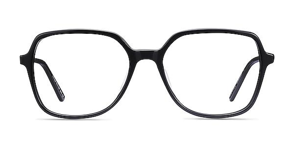 Lenny Black Acetate-metal Eyeglass Frames