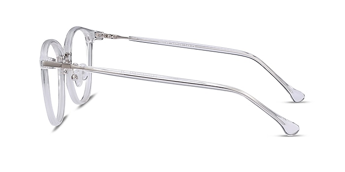 Shelby Clear Acetate-metal Eyeglass Frames from EyeBuyDirect