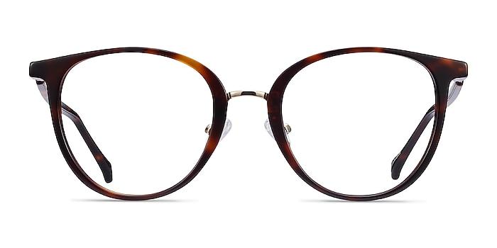 Shelby Tortoise Acetate-metal Eyeglass Frames from EyeBuyDirect