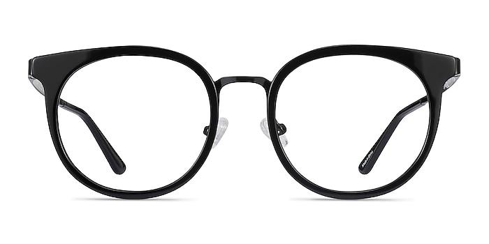 Murphy Black Acetate-metal Eyeglass Frames from EyeBuyDirect