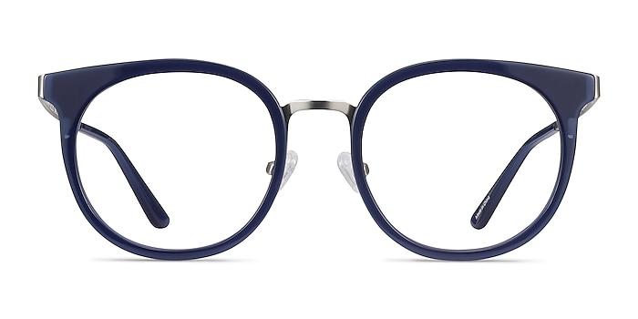Murphy Navy Acetate-metal Eyeglass Frames from EyeBuyDirect