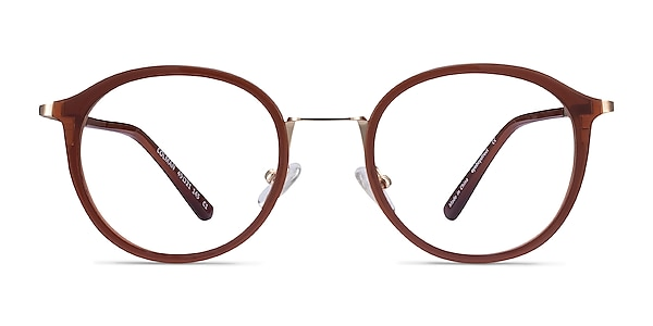 Colman Coffee Acetate-metal Eyeglass Frames