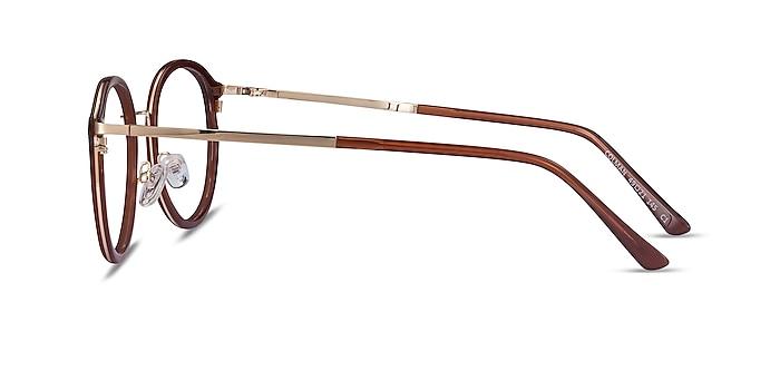 Colman Coffee Acetate-metal Eyeglass Frames from EyeBuyDirect