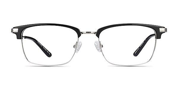 Maxwell Black Acetate-metal Eyeglass Frames