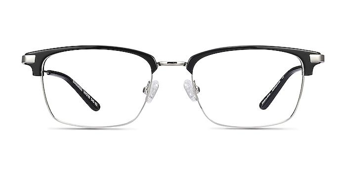 Maxwell Black Acetate-metal Eyeglass Frames from EyeBuyDirect