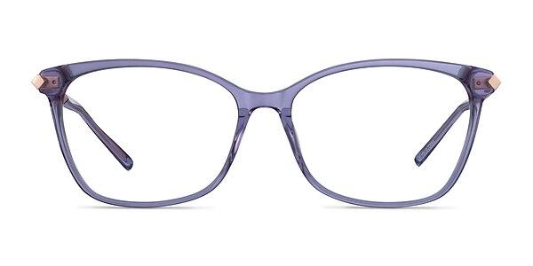 Ashley Purple Acetate-metal Eyeglass Frames