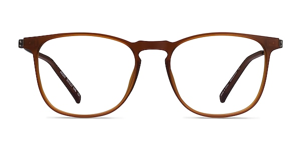 Avery Brown Plastic-metal Eyeglass Frames