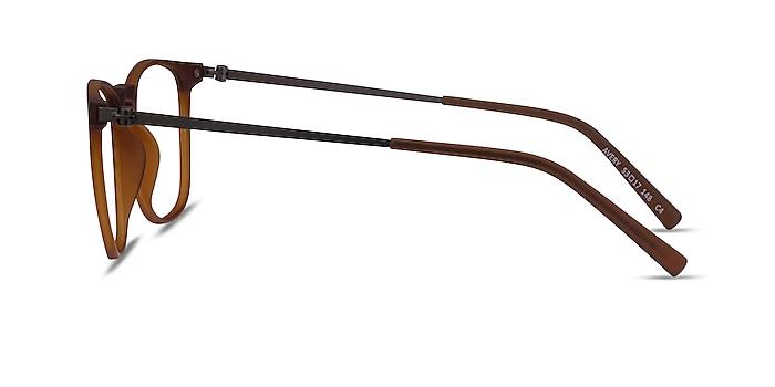 Avery Marron Plastic-metal Montures de lunettes de vue d'EyeBuyDirect