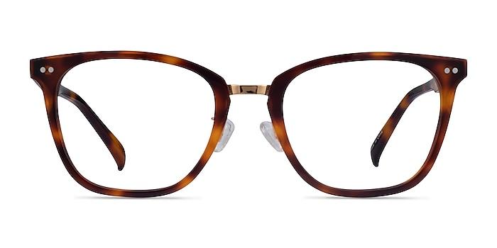 Biblio Tortoise Acetate-metal Eyeglass Frames from EyeBuyDirect