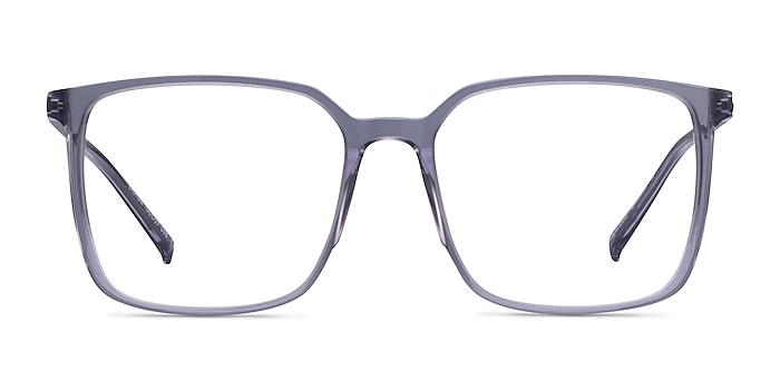 Easton Clear Gray Acetate-metal Eyeglass Frames from EyeBuyDirect