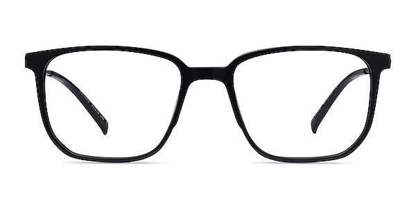 Pattern Noir Acétate Montures de lunettes de vue