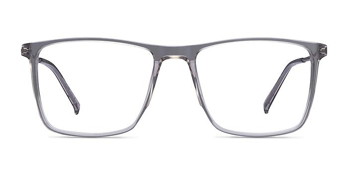 Cooper Clear Gray Acétate Montures de lunettes de vue d'EyeBuyDirect