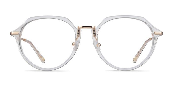 Tamara Clear Yellow Acetate Eyeglass Frames from EyeBuyDirect