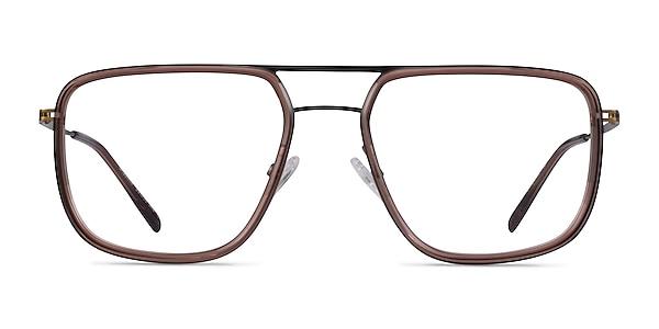 Cassian Brown Bronze Acetate Eyeglass Frames