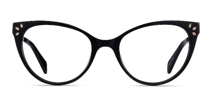 Beauty Noir Acetate-metal Montures de lunettes de vue d'EyeBuyDirect
