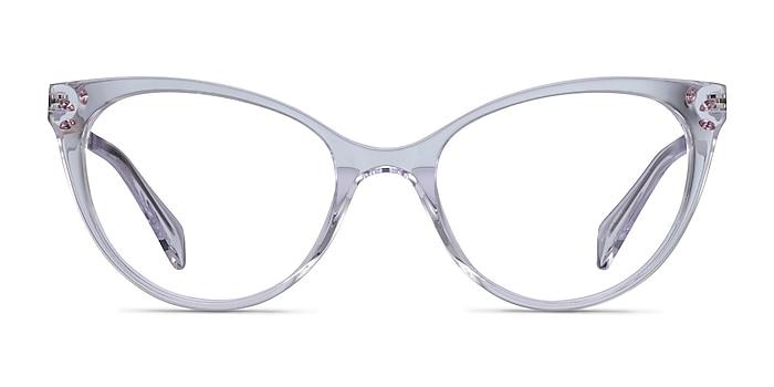 Beauty Clear Acetate-metal Eyeglass Frames from EyeBuyDirect