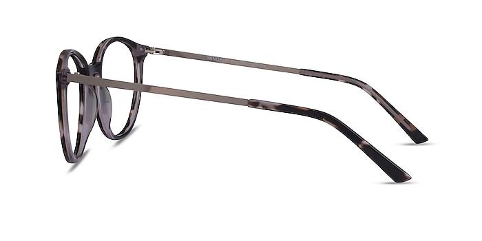 Mindful Ivory Tortoise Silver Acétate Montures de lunettes de vue d'EyeBuyDirect