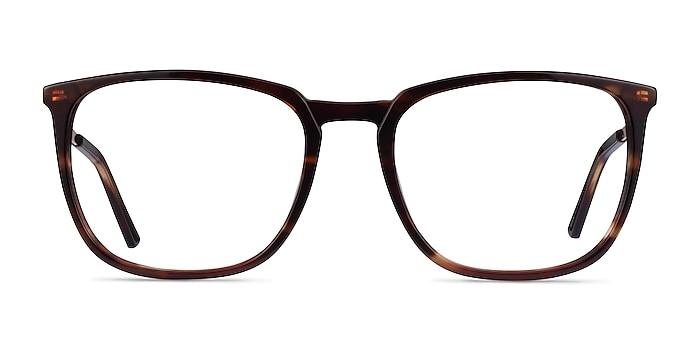Domenico Tortoise  Gold Acetate Eyeglass Frames from EyeBuyDirect