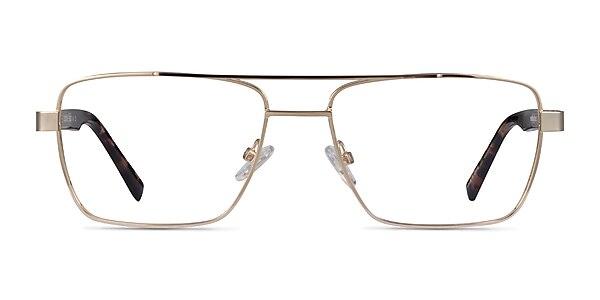 Colton Gold, Clear & Tortoise Acétate Montures de lunettes de vue