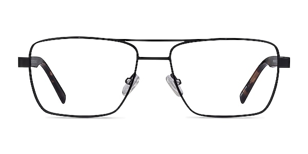 Colton Black & Tortoise Acetate Eyeglass Frames