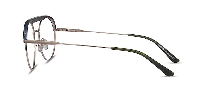 Volition Gold &Tortoise Acetate-metal Eyeglass Frames from EyeBuyDirect