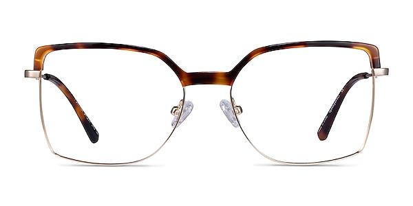 Further Tortoise & Gold Acetate-metal Eyeglass Frames