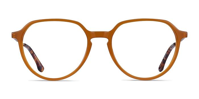 World Orange Acetate Eyeglass Frames from EyeBuyDirect