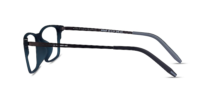 Rebus Vert Mat Plastique Montures de lunettes de vue d'EyeBuyDirect