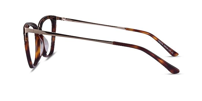 Trenta Tortoise Gold Acetate Eyeglass Frames from EyeBuyDirect