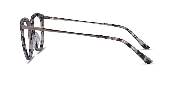 Momentous Gray Tortoise Acetate Eyeglass Frames from EyeBuyDirect
