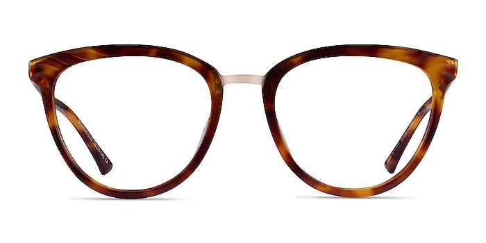 Momentous Tortoise Acetate Eyeglass Frames from EyeBuyDirect