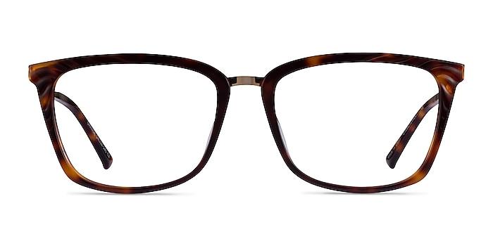 Grande Tortoise Gold Acetate Eyeglass Frames from EyeBuyDirect