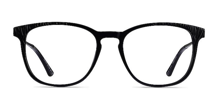Astute Black Acetate Eyeglass Frames from EyeBuyDirect