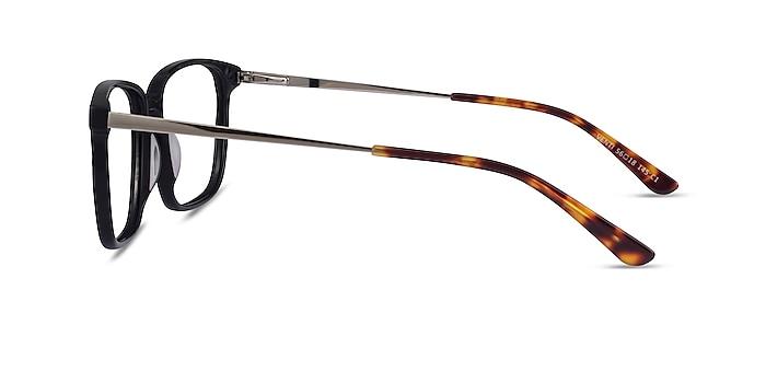 Venti Black Acetate Eyeglass Frames from EyeBuyDirect