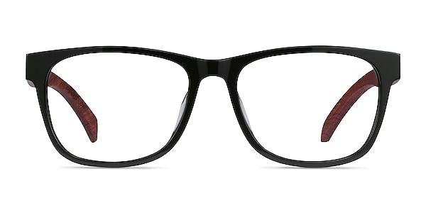 Reserve Green & Red Wood Acetate Eyeglass Frames