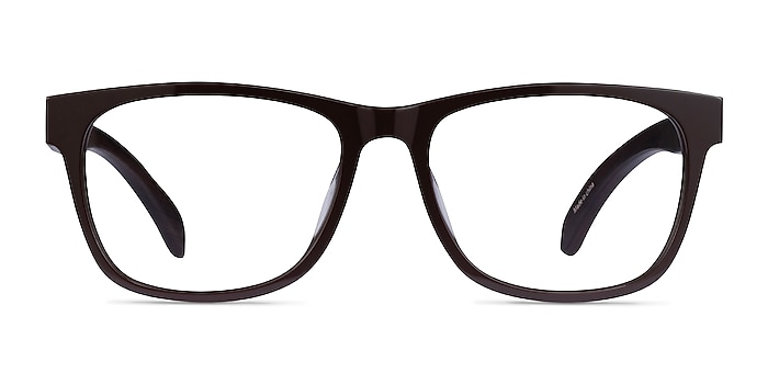 Reserve Brown & Dark Wood Acetate Eyeglass Frames from EyeBuyDirect