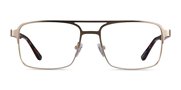 Gustave Gold Tortoise Acetate Eyeglass Frames