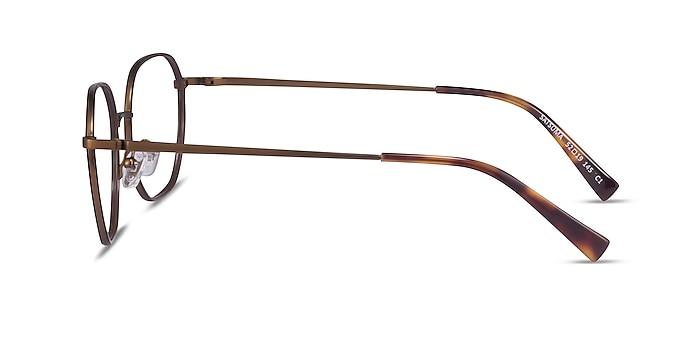 Satsuma Brown Bronze Acétate Montures de lunettes de vue d'EyeBuyDirect