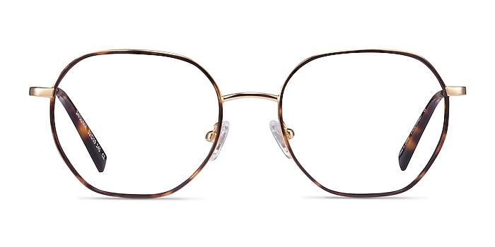 Satsuma Tortoise Gold Acetate Eyeglass Frames from EyeBuyDirect