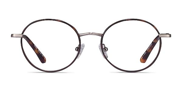 Ikigai Tortoise Gunmetal Acetate Eyeglass Frames