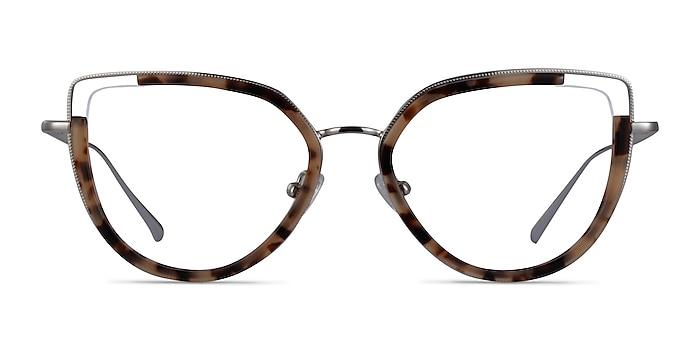 Koyo Ivory Tortoise Silver Acétate Montures de lunettes de vue d'EyeBuyDirect