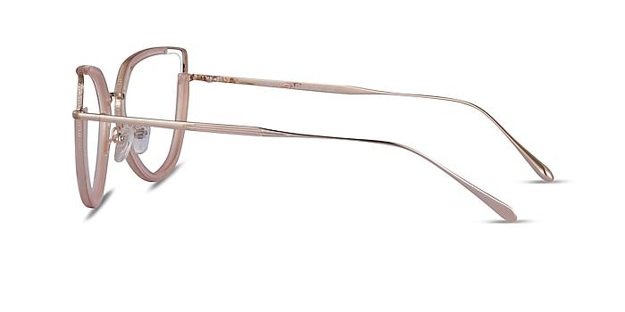 Koyo Champagne Gold Acetate Eyeglass Frames from EyeBuyDirect