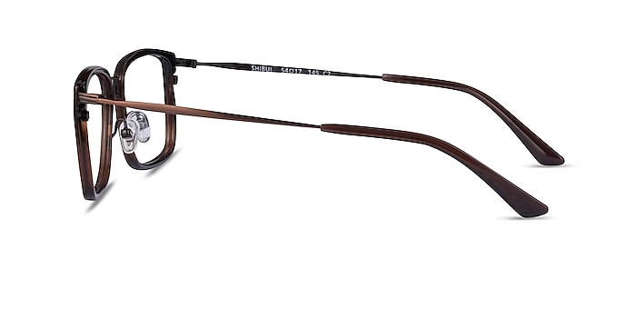 Shibui Coffee Acetate Eyeglass Frames from EyeBuyDirect
