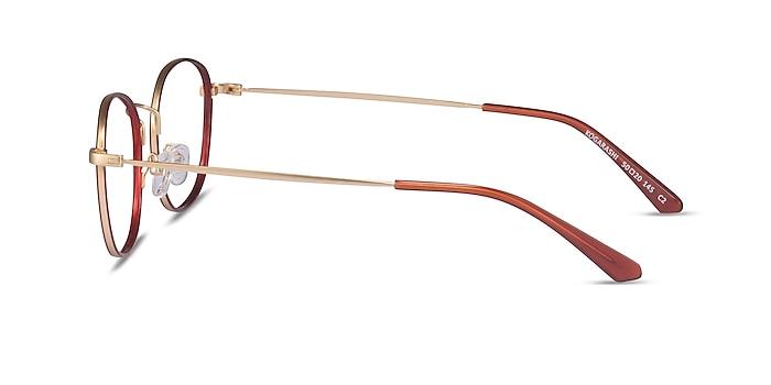Kogarashi Brown Gold Acétate Montures de lunettes de vue d'EyeBuyDirect