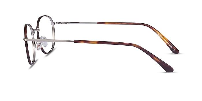 Otaku Tortoise Silver Acétate Montures de lunettes de vue d'EyeBuyDirect