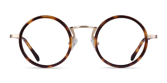 Nagoya Tortoise Gold Acétate Montures de lunettes de vue d'EyeBuyDirect