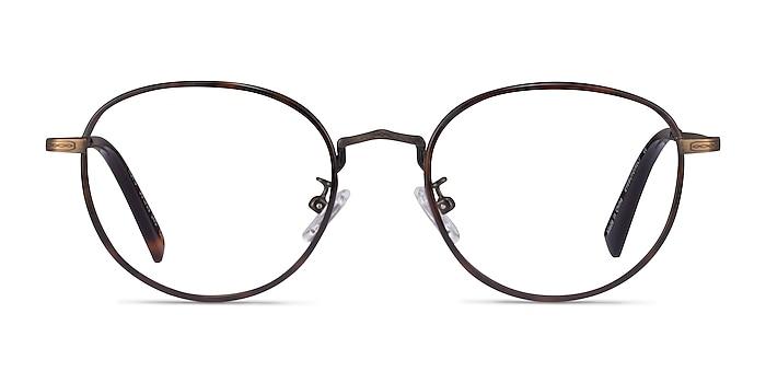 Kofu Tortoise Coffee Acétate Montures de lunettes de vue d'EyeBuyDirect